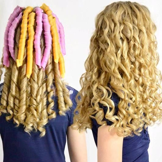 Image result for no heat magic safety hair curlers rollers