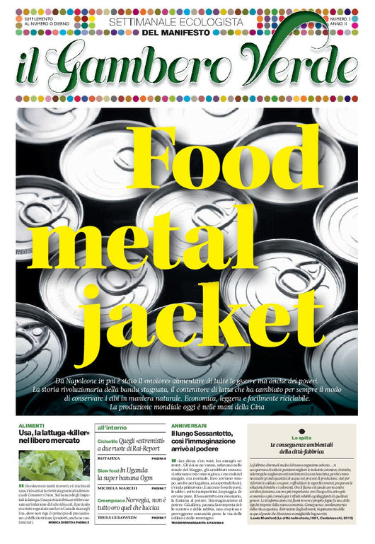 Il Gambero Verde - numero 7 - Food Metal Jacket