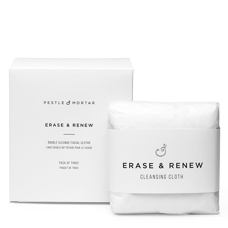 Erase & Reniew Cleansing Cloths (Pack of 3)
