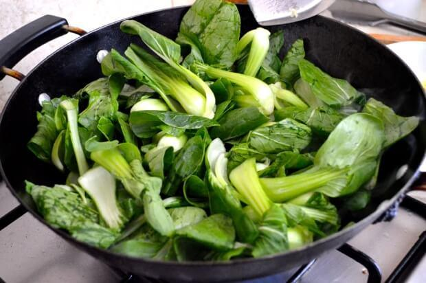 Quick and Easy Anti-Inflammatory Bok Choy Stir Fried in Coconut Oil