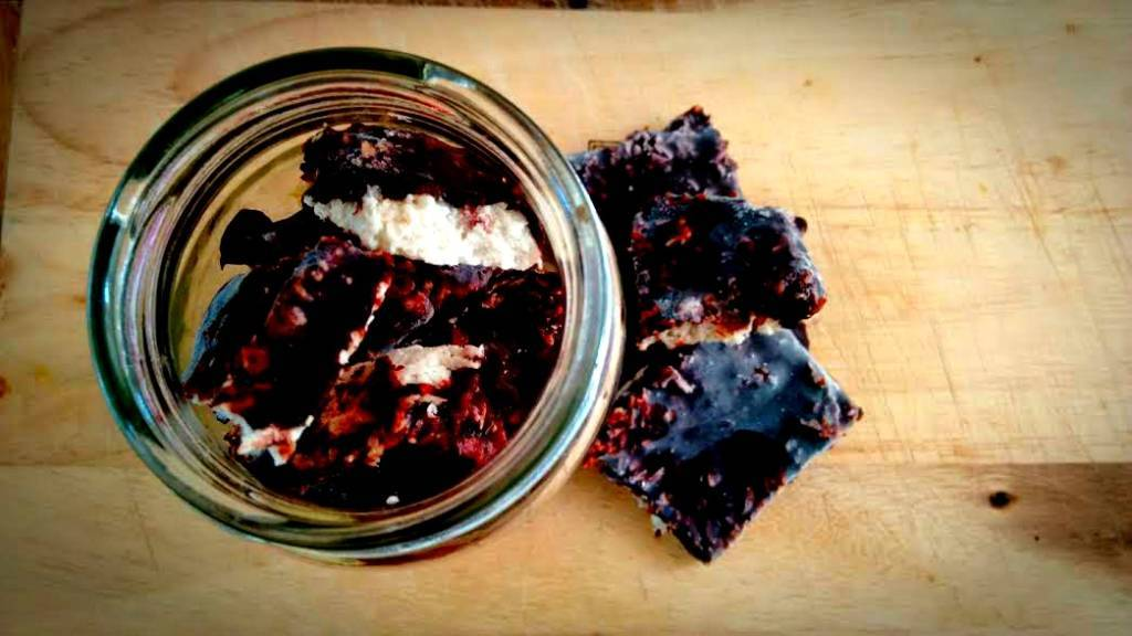 Vata Snacks Recipe: Raw Creamy Coco-Choc Treats