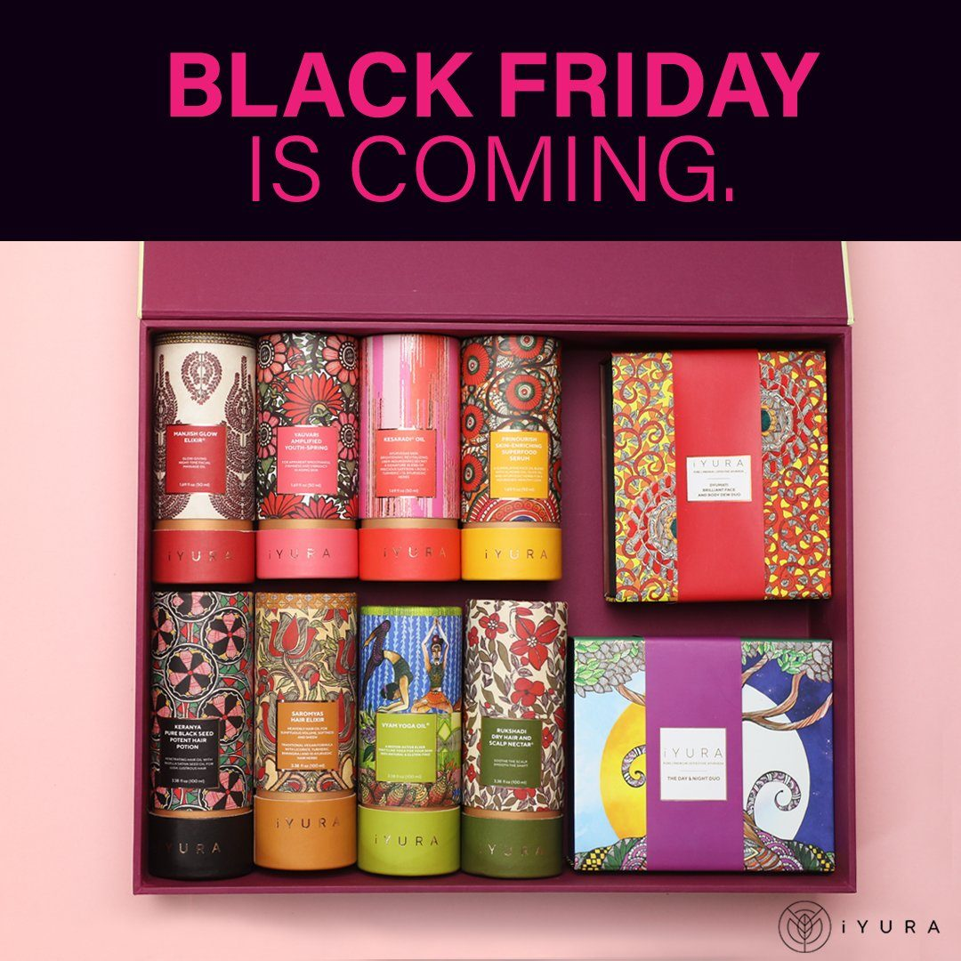 What is So Special About iYURA's Black Friday Sale? What Makes Ayurvedic Products the Best Gifting Option this Year?