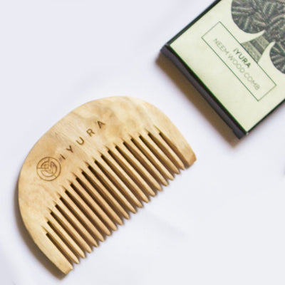 Ambhring Age Embrace Revitalizer and Hair Oil - With FREE Neem Wood Comb Hair Oil iYURA