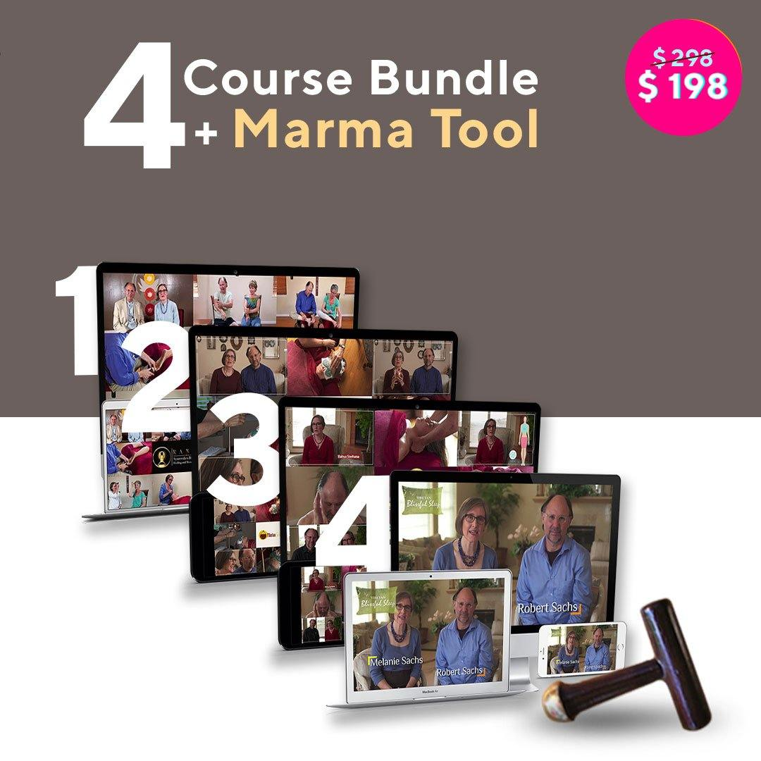 Ayurvedic Massage and Wellness Course Bundle with Marma Tool Educational Course The Ayurveda Experience