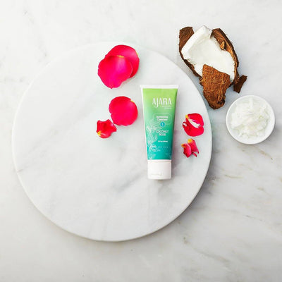 Coconut Rose Softening Cleanser Face wash Ajara