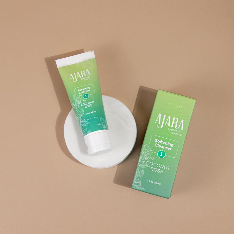 Coconut Rose Softening Cleanser - Pack of 2 Face wash Ajara