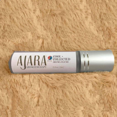 Cool + Collected Roll-On Aroma - Cooling Calming Soothing - Especially for high Pitta moments Ajara
