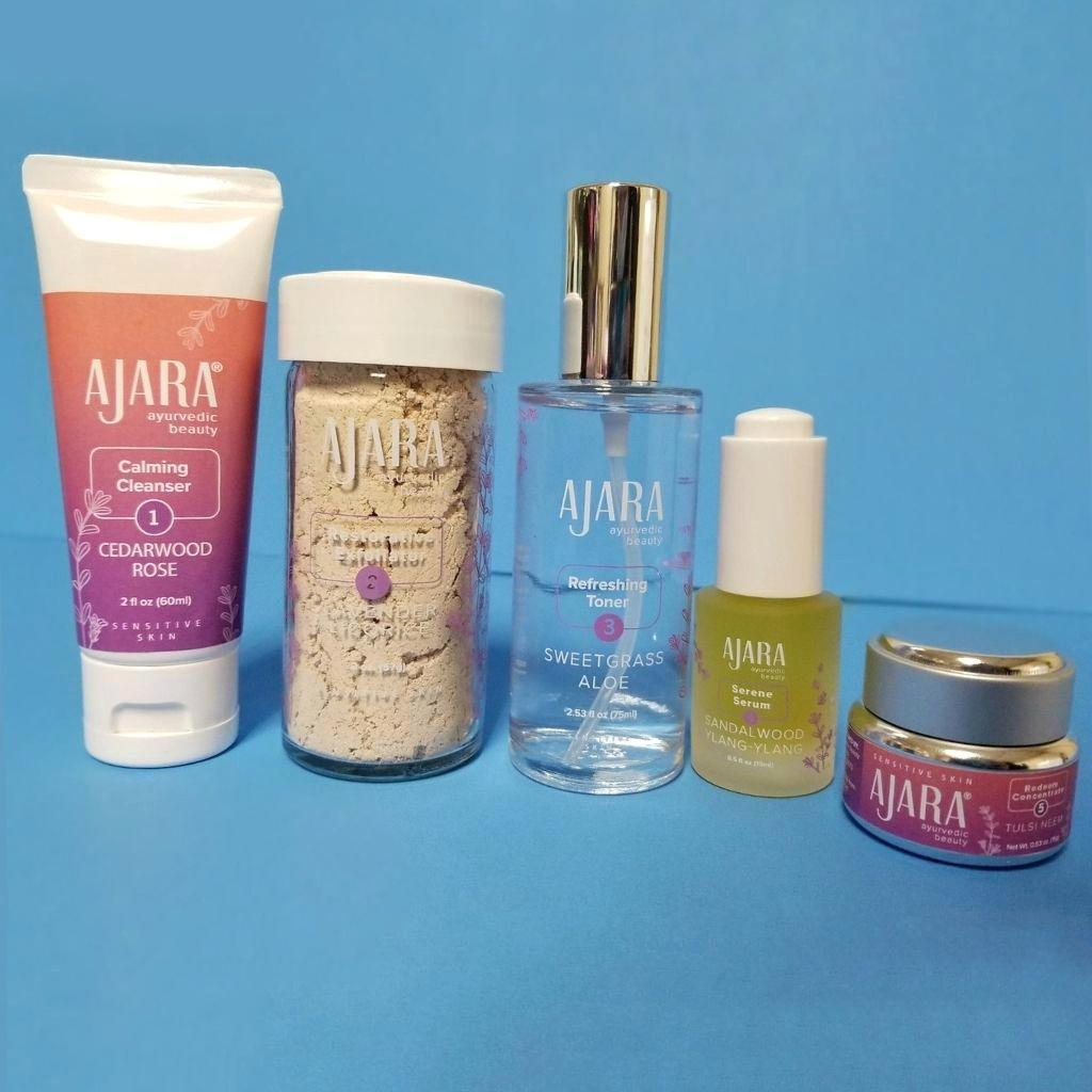 Ajara Daily Face Care Kit for Sensitive or Combination Skin