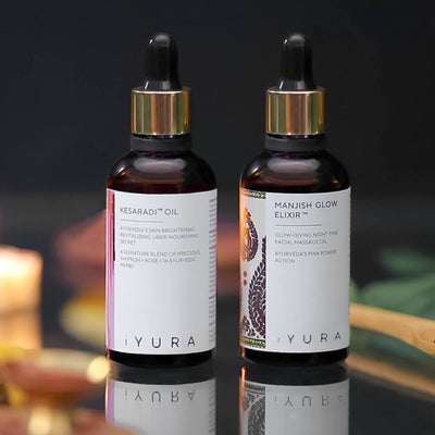 Day & Night Face Oil Duo Beauty set iYURA