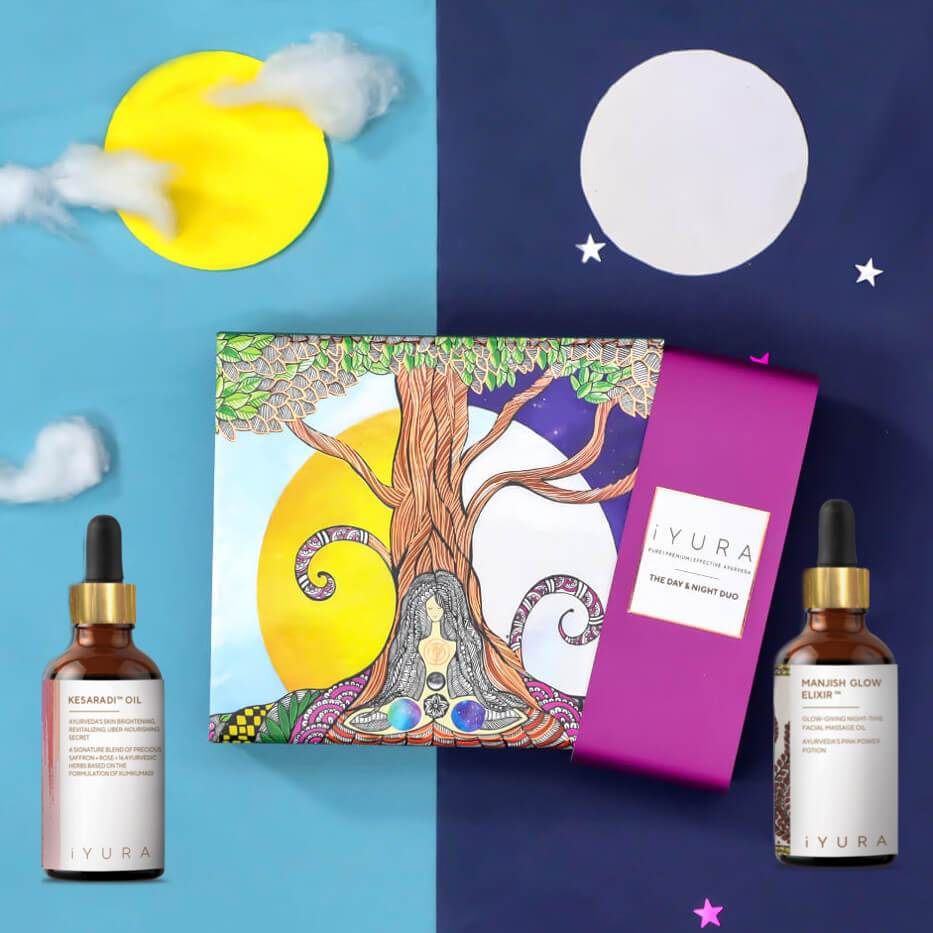 Day & Night Face Oil Duo - In A Beautiful Gift-Worthy Box