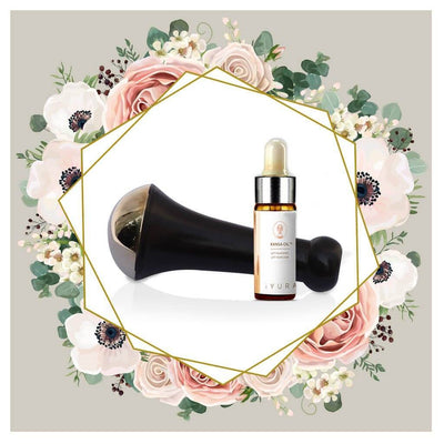 Kansa Kit (Small) - Personal Kansa Wand + FREE 15 ml iYURA Kansa Oil + Free Maintenance Kit Kit Experience Ayurveda