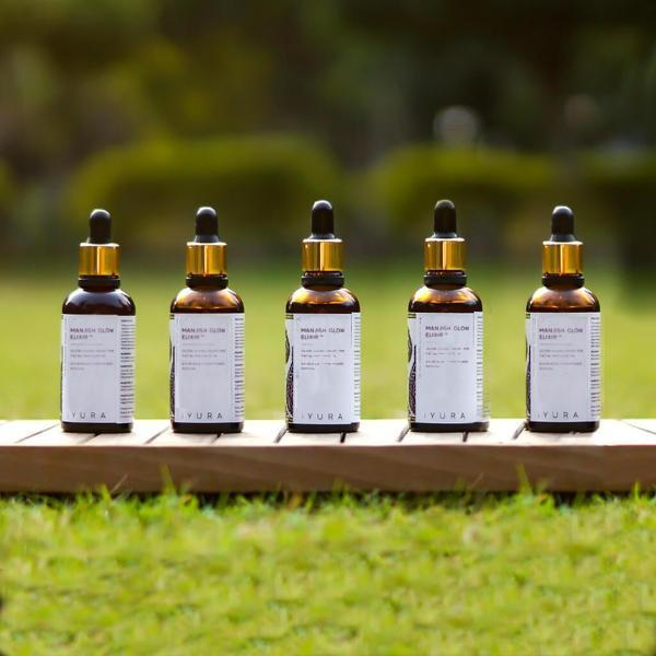 Manjish Glow Elixir - Pack of 5 Night-time face oil iyura