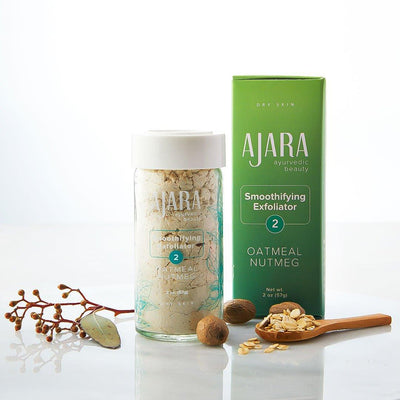 Oatmeal Nutmeg Smoothifying Exfoliator (For Dry/Vata Skin) Face and Body Scrub Ajara