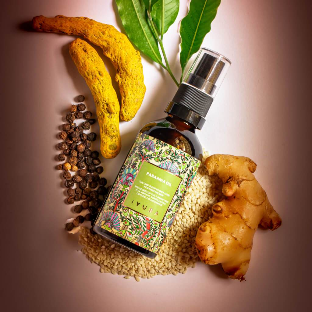 Paraania - The One-Pump Power-Dose for Pristine Skin Face oil iYURA
