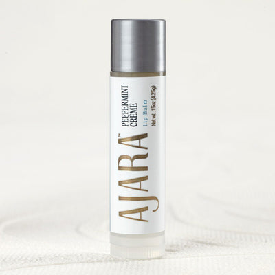 Ajara Peppermint Cream Lip Balm Ajara Ayurvedic Beauty
