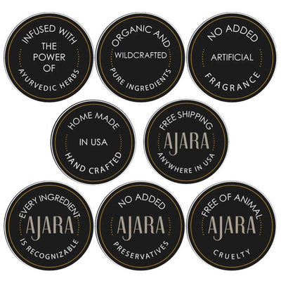 Peppermint Cream Lip Balm Ajara