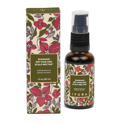 Rukshadi Dry Hair and Scalp Nectar - 30 ml Hair Oil iYURA