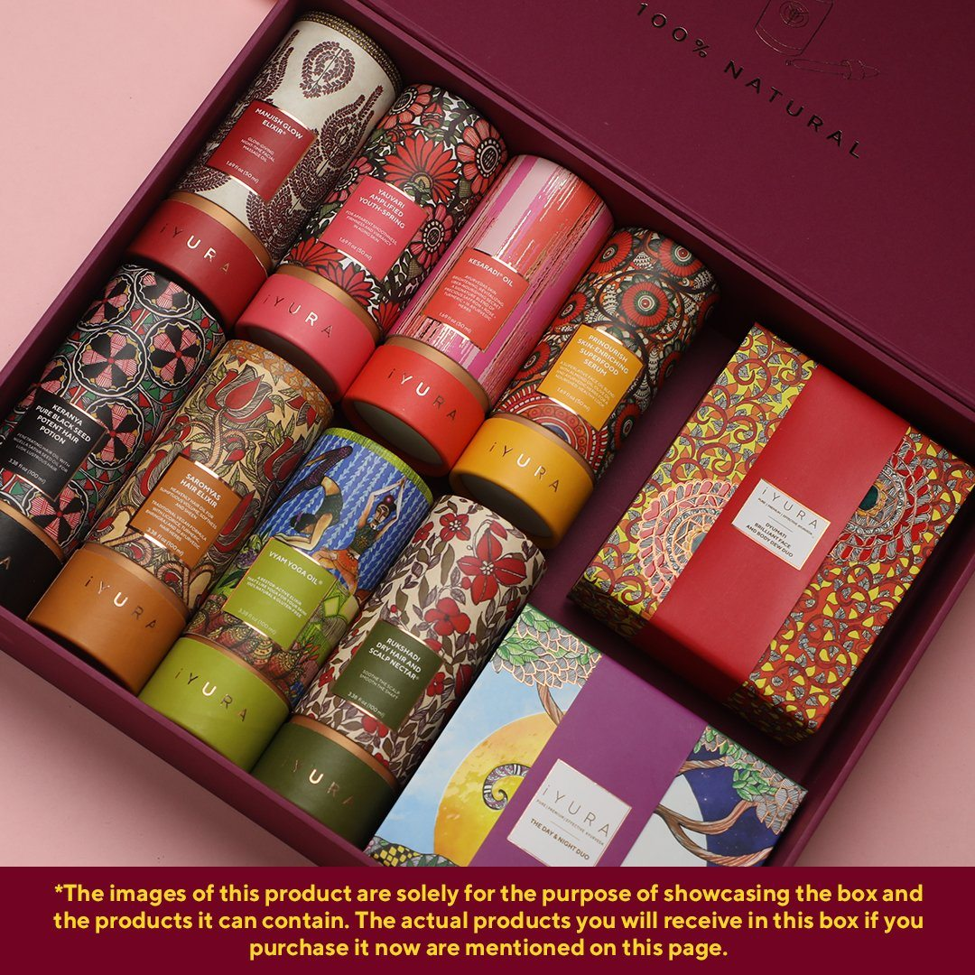 The iYURA Vault - 10 Premium iYURA Oils in a Collector's Box Beauty set iYURA