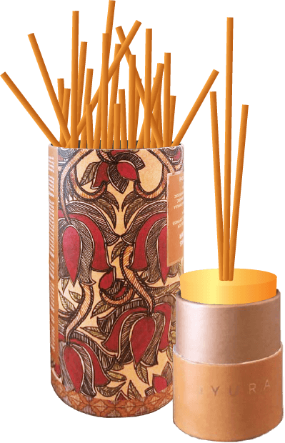 Facilitate fragrances like incense sticks and candles, or a perfume bottle holder for boundless aesthetics.