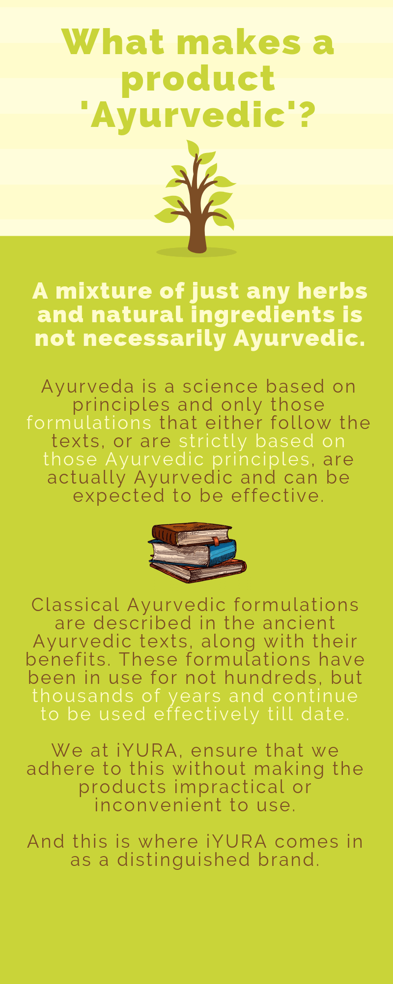 iYURA's ayurvedic and botanical research is the basis of all their actions. No cursory heresy, only time-tested formulations brought to life pragmatically.