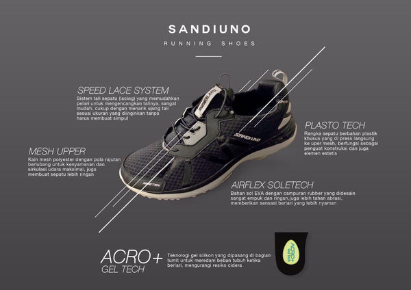 SandiUno Running shoes