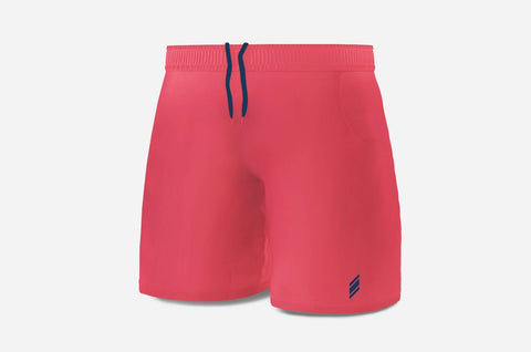 Eye Shorts (Peach/Navy)