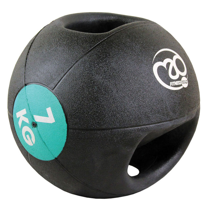 7kg Double Grip Medicine Ball