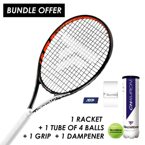 Tecnifibre T-Fit 275 Speed starter bundle - FluxSports.co.uk
