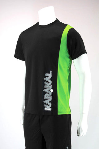 Karakal Club Tee Black & Green