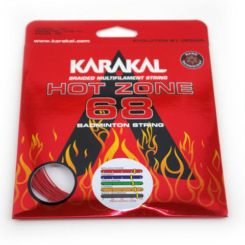 Karakal Hotzone 68 Badminton Strings - FluxSports.co.uk
