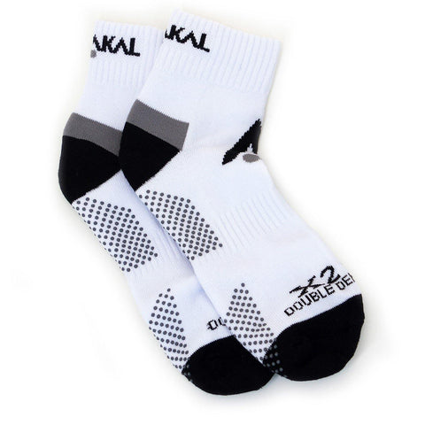Karakal X2+ Mens Ankle Socks - White and Black