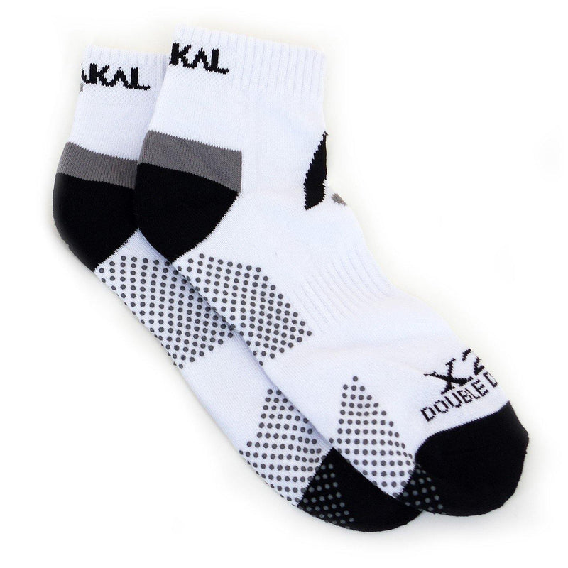 Karakal X2+ Mens Trainer Socks - White and Black - FluxSports.co.uk