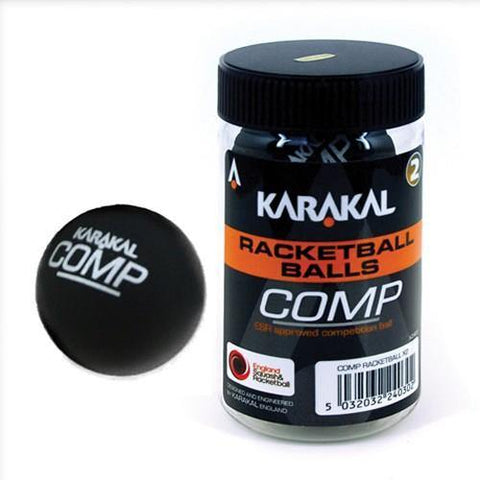 Karakal Competition Squash 57 (Racketball) Ball x2 - FluxSports.co.uk
