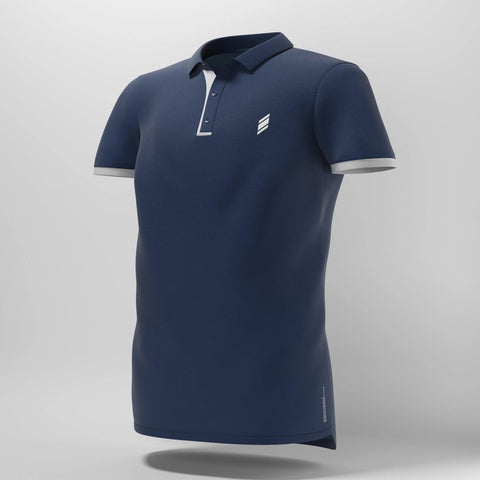 Eye Polo (Navy/White) - FluxSports.co.uk