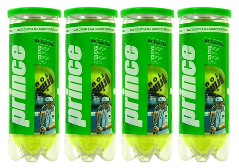 Prince NX Tour Pro Tennis Balls Dozen - FluxSports.co.uk