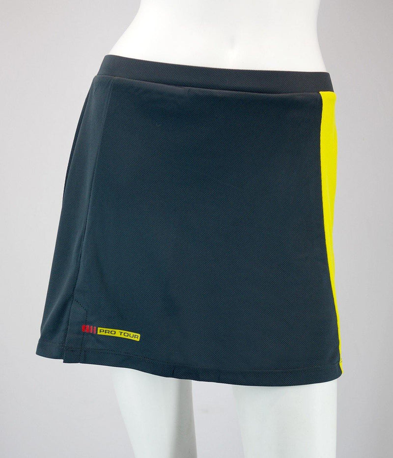 Karakal Pro Tour Lady Skort Graphite - FluxSports.co.uk