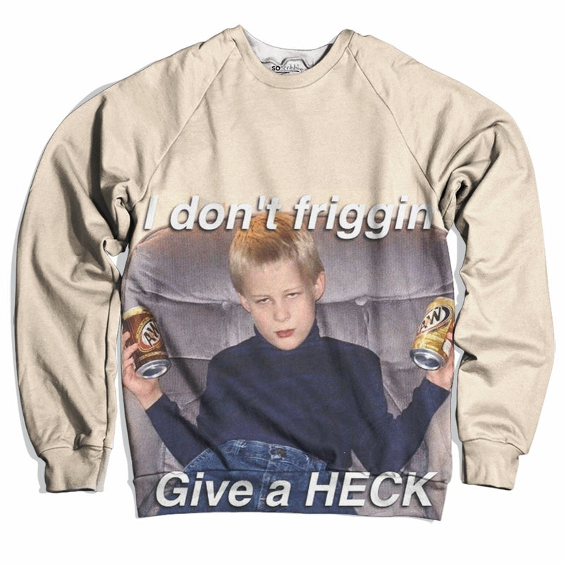 Don't Give a Friggin' Heck Sweater