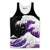 Purple Drank Waves Tank Top-Meme-SoScribbly