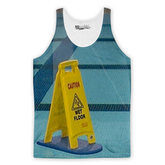 Wet Pool Sign Tank Top