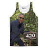 Obama Loves 420 Tank Top-Meme-SoScribbly