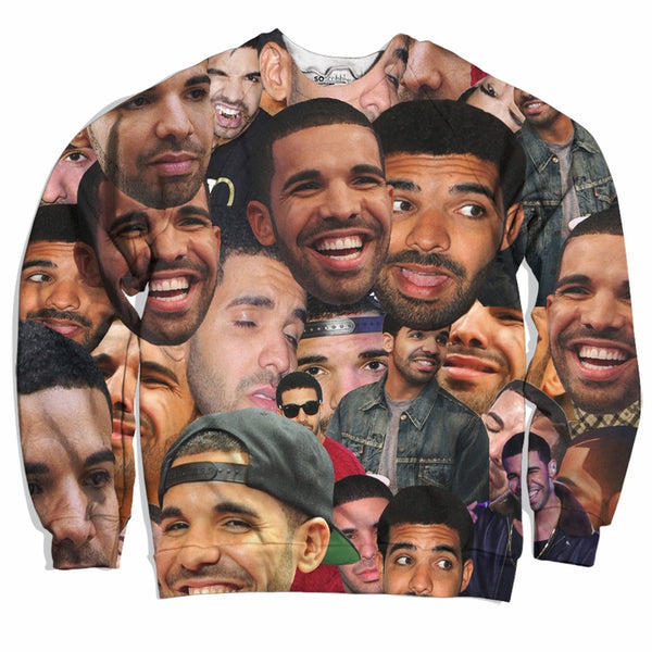 Drake Collage Sweater