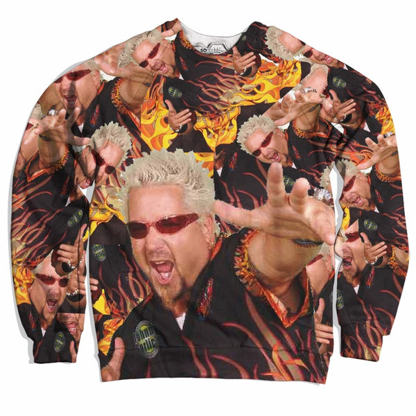 Guy Fieri is Lit Sweater