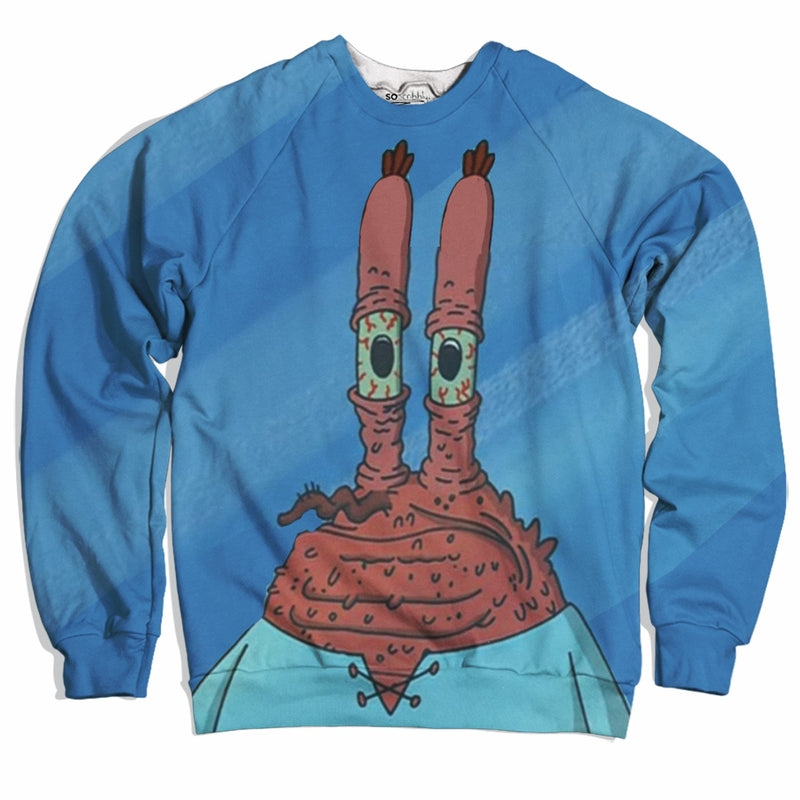 Mr. Krabs Looking Old Sweater