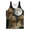 Jesus Moon Howling Tank Top