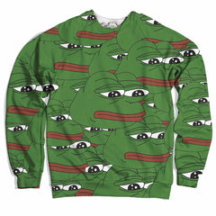 Pepe Collage Sweater