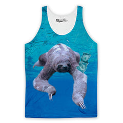 Nirvana Sloth Tank Top