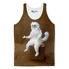 Confused Persian Cat Tank Top-Meme-SoScribbly