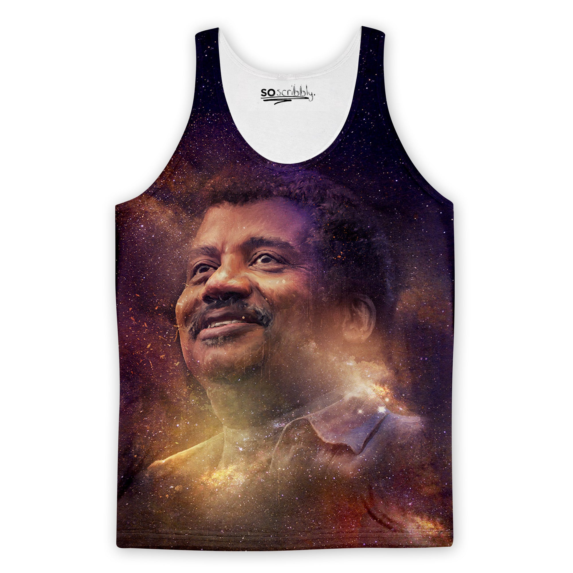 Galactic Neil Degrasse Tank Top