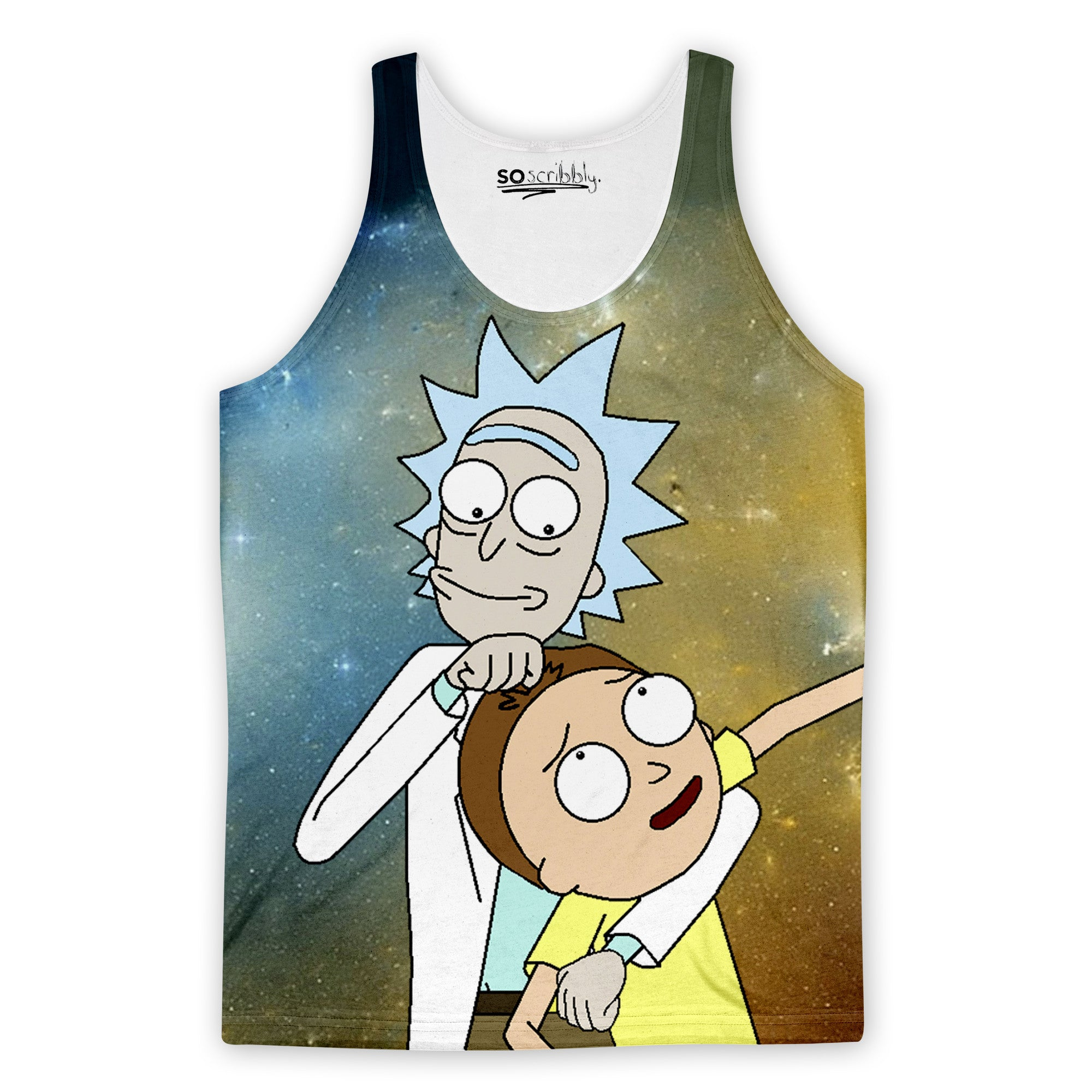 Rick Loves Morty Tank Top