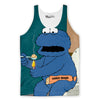 Cookie Addict Tank Top-Meme-SoScribbly